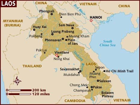 Laos-Map-Christian-Persecution